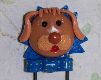 Magnet Jumbo Dog Paperclip Memo holder