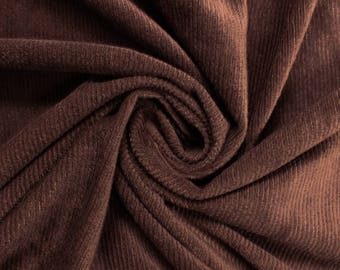 Brown Stretch Corduroy Fabric by the Yard - Style 2012