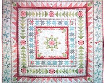 Snowflake Medallion Quilt Pattern