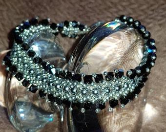 Black and grey bracelet
