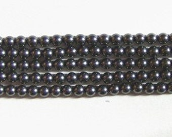 Swarovski elements Crystal pearl beads style 5810 crystal beads Dark Grey  -- Available in 4mm, 6mm, 8mm , 10mm and 12mm
