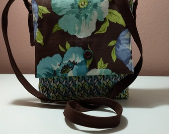 Poppies Mini Messenger Bag