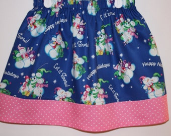 Let it Snow Skirt       Size 2 to 8