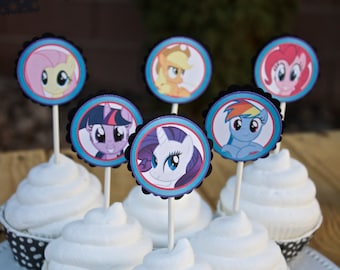 Personalized MLP Party Decorations Package - FULLY ASSEMBLED - Birthday - Ponies- Party - Celebration - Themed - Photo Shoot