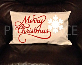 Christmas pillow cover, Christmas decorations, Christmas decor