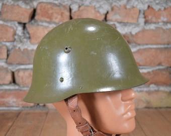 Bulgarian army helmet  WW2 helmet Army helmet 1936 Army helmet M-36 Steel helmet unused Military helmet  M1936 Vintage helmet m36 Old helmet