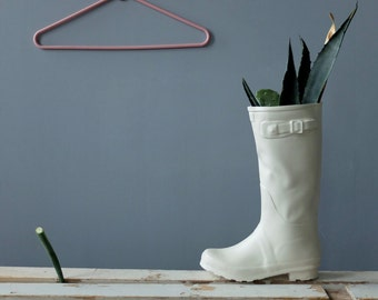 Ceramic Vase, Ceramic Sculpture, Rain Boots, Flower Vase, Unique Planter, Gift for Her, Home Decor Gift, Ceramics Pottery, new home gift