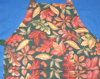 Fall Leaves Woman's Apron