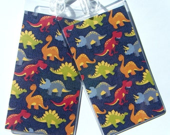 Dinosaurs Luggage Tag Pair