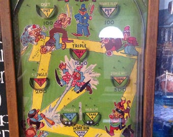 Vintage Poosh-M-Up Jr. 4-In-1 Table Top Game Pinball Game The NorthWestern Company