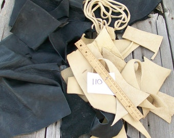 Buffalo leather scraps , Scrap leather , Leather remnants