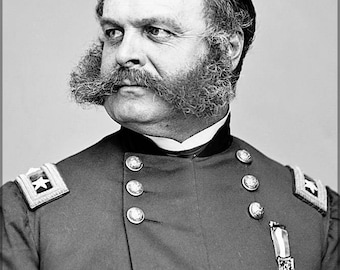 Poster, Many Sizes Available; General Ambrose E. Burnside