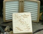 BOIS BRULE River Map Fly ...