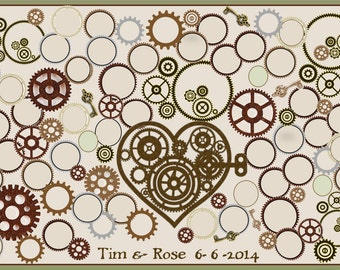 paper anniversary gift - Theme wedding -  wedding guest book -  wedding book ideas, - Teddy Bear Wedding, wedding book option,  guest book