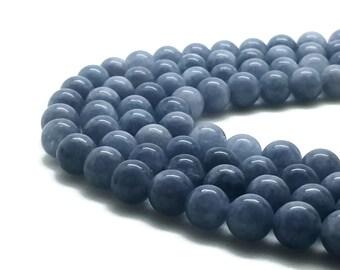 8mm Natural Aquamarine Beads 47 Beads Round 8mm Aquamarine 8mm Aquamarine Beads Aquamarine March Birthstone Gemstone Aquamarine Stone Blue