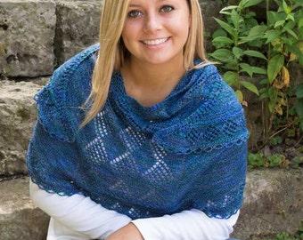 Waterford Shawl Knitting Pattern - PDF
