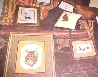 Cats of Course Crossstitch Booklet Hedgpath