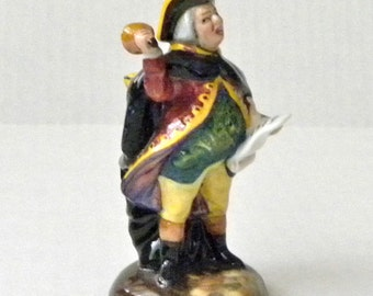 Royal Doulton Miniature Figurine Town Crier