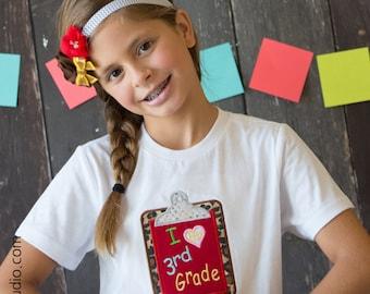 Back To School Shirt - Homeschool Shirt, Kindergarten, 1st Grade, 2nd Grade, 3rd Grade, Pre K, School Dress, School Outfit, Matching Sibling