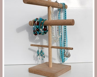Jewelry Organizer, Bracelet Holder, Necklace Tree, Retail Display Stand, Jewelry Show Storage, Headband Holder, Watch Holder, Earring Rack