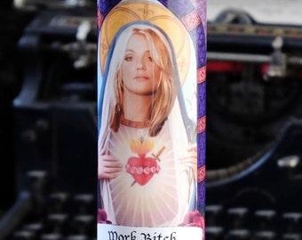 Saint Britney / Britney Spears Prayer Candle