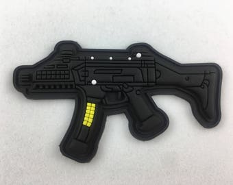 CZ EVO Scorpion Rifle PVC Morale Patch