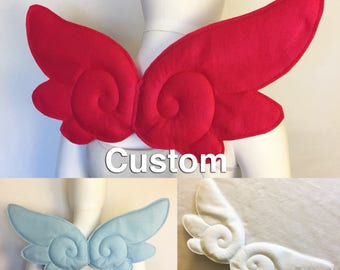 Kawaii Angel Wings Kawaii costume wings magical girl wings harajuku fairy kei cardcaptor wings sakura Japanese wings kawaii cosplay wings