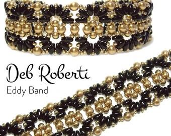 Eddy Band beaded pattern tutorial by Deb Roberti