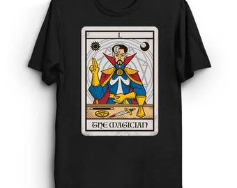Strange Magic - Doctor Strange T-Shirt   Tarot Shirt   Comic Book T-Shirt