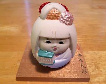 Hakata Ningyo bell doll.