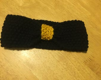 Black and Gold Bow-Band