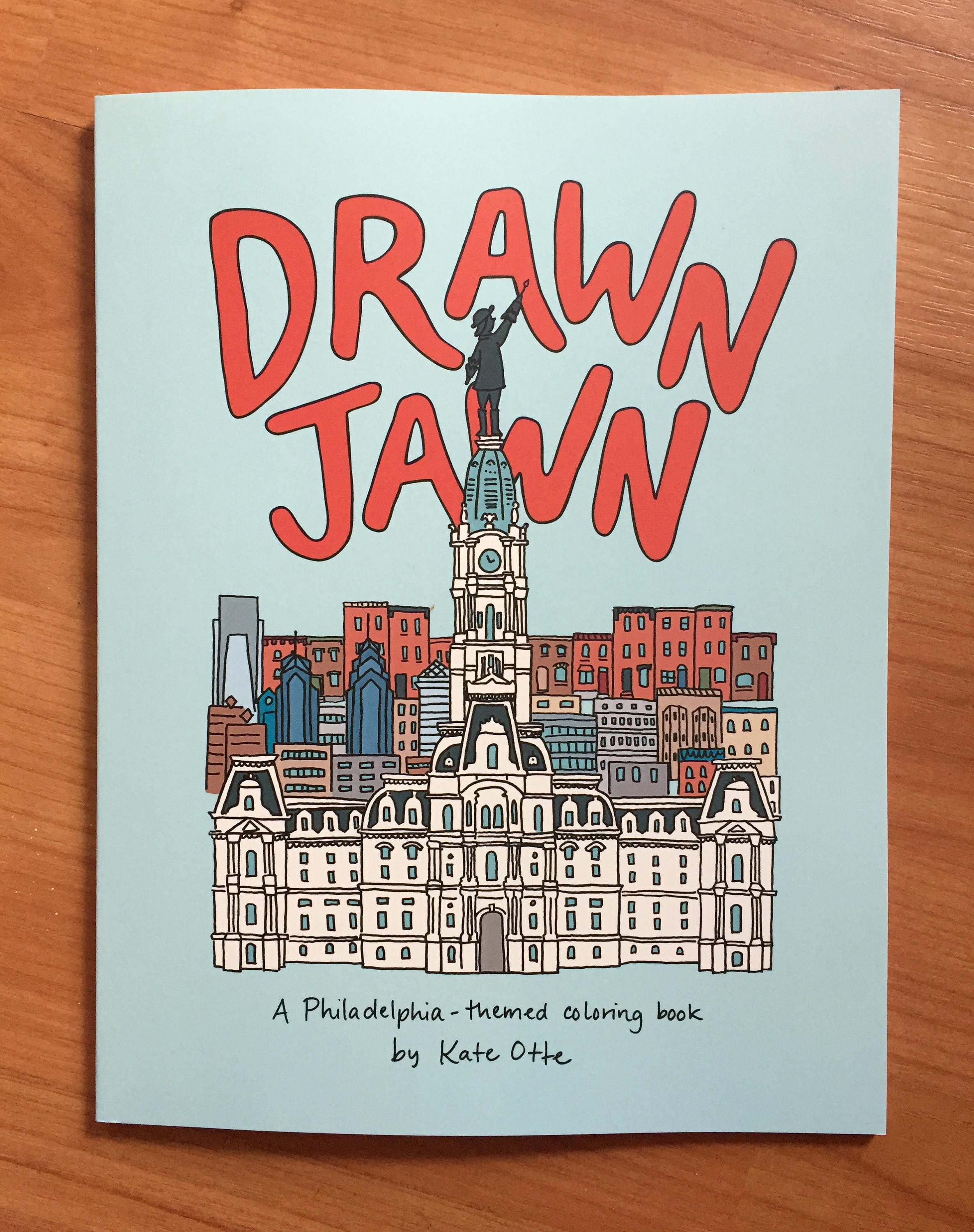 Drawn Jawn: A Philadelphia-themed coloring book