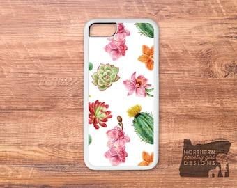 succulent phone case / succulent / cactus phone case / iPhone 7 case / iPhone 6 case / iPhone case / iPhone 7 plus case / cactus /phone case