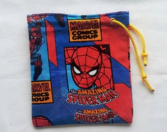 Spiderman Dice Bag/pouch