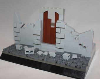 Custom house ruine build out of original LEGO® bricks.