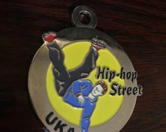 Hip Hop Street UKA Medal