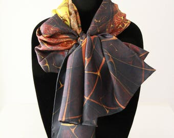 Traditional Silk Twill Scarf