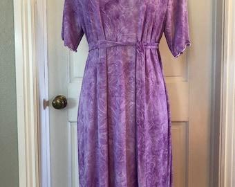 Size XL custom length women's knit dress