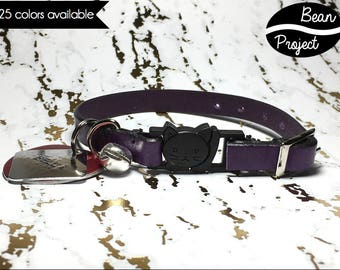 Leather Breakaway Collar for Cats