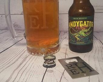 Etched Beer Mug 26.5 oz