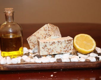 Lemon and Cranberry Seed Exfoliant