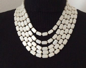 Vintage 5 strand necklace