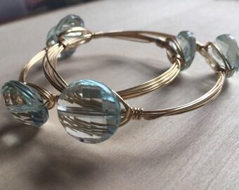 Wire wrap bracelets, wrap bracelets, wire bangles, gold wire bangle bracelets, wire bangle bracelet