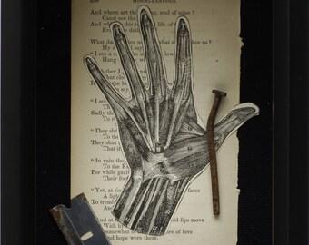 Morbid Anatomy Greeting Card - 'Mend'