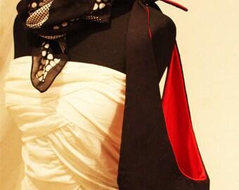 Reversible Black & Red bag
