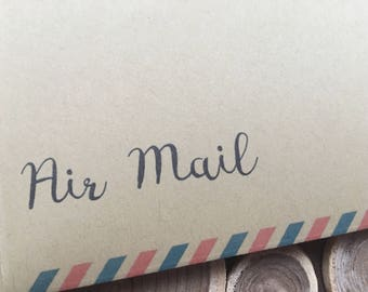 No.10 envelope / B.