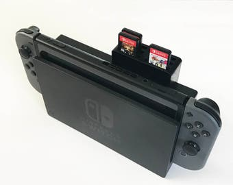 Nintendo Switch Dock Game Cartridge 6 Slot Add-On | Holds 6 Games | Lightweight | Nintendo Switch Accessory | Multiple Colors | Slide On/Off