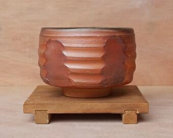 Big wood fired tea bowl (chawan)
