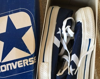 Vintage ABA Converse youngsters hi cavas Basketball shoes USA size 1