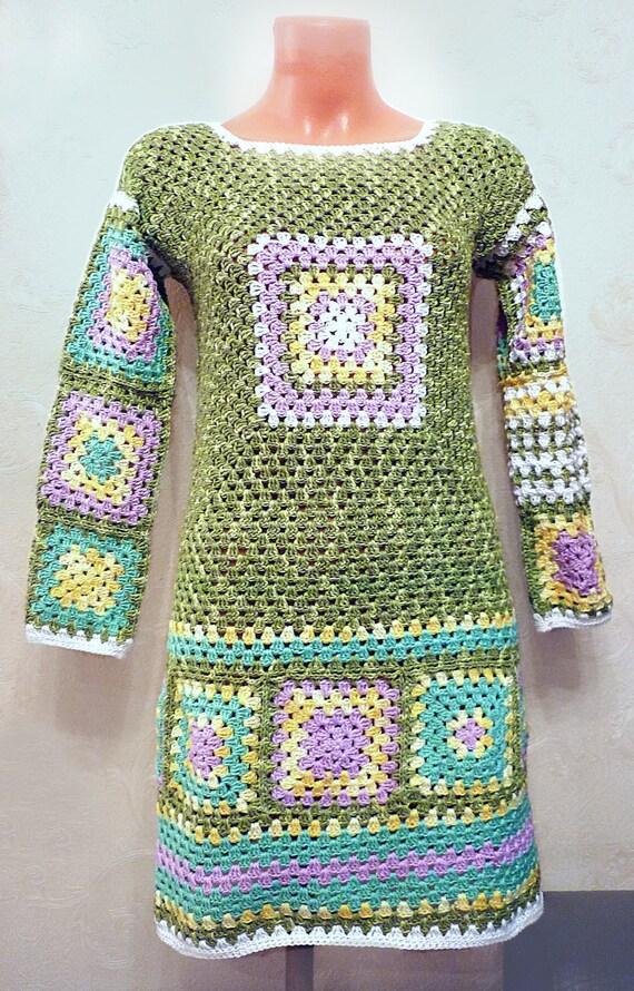 Nice Einfach Häkeln Oma Platz Afghanisch Muster Adornment - Decke ...